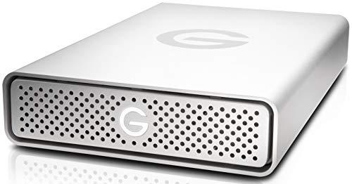 G-Technology G-DRIVE 4TB 195MB/s, con USB 3.0 / USB-C