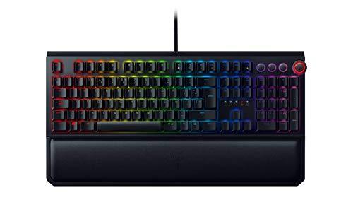 Razer Blackwidow Elite - Teclado Gaming,Teclado Mecánico Para Juegos Completo, Dial...