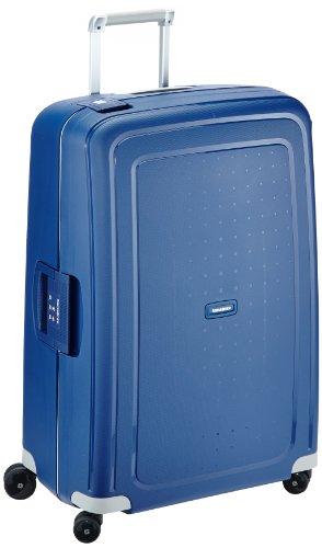Samsonite S'Cure Spinner - Maleta de equipaje, L (75 cm - 102 L), Azul (Dark Blue)