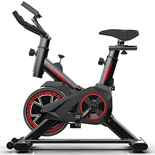 Zzxxo Bicicleta estática de Spinning Deportiva para Estudio,Cardiovascular,...