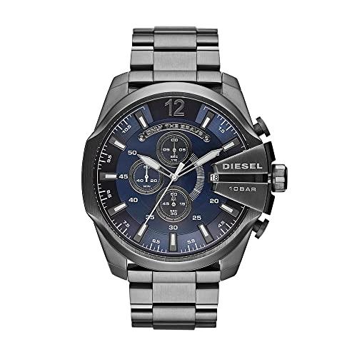 Diesel Reloj Cronógrafo para Hombre de Cuarzo con Correa en Acero Inoxidable DZ4329