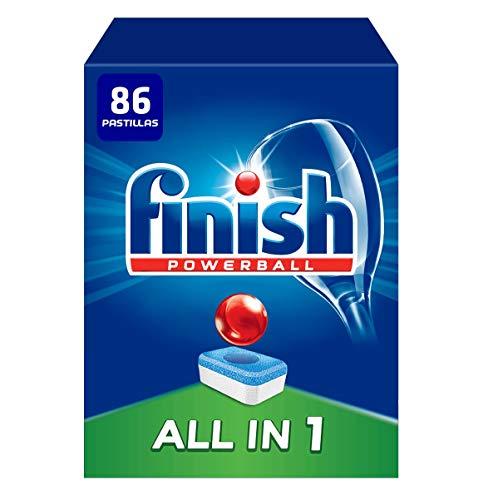 Finish Powerball All in 1 Original - Pastillas para el Lavavajillas Todo en 1,...