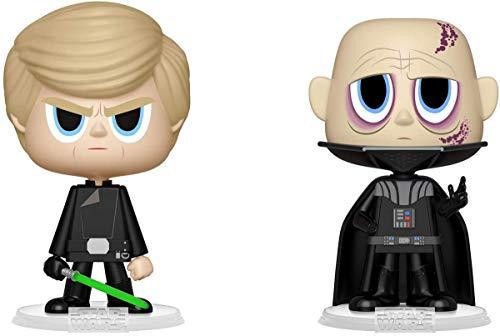 Funko 31623 VYNL 4 Pulgadas 2-Pack: Star Wars: Darth Vader & Luke Skywalker (ROTJ),...