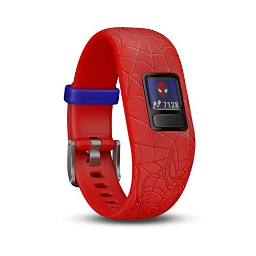 Garmin Vívofit Jr. 2 - Monitor de actividad para niños, Marvel Spider-Man - Red...