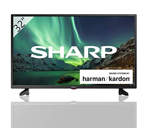 Sharp 32BB3E - TV de 32' (resolución 1368 x 720, 3x HDMI, 2x USB) color negro