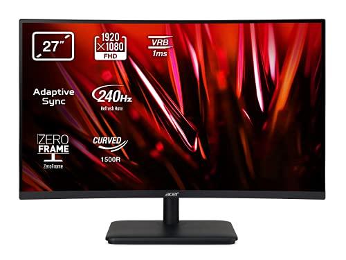 Acer ED270Xbiipx - Monitor Gaming Curvo de 27' Full HD 240 Hz (1920x1080, Pantalla VA...