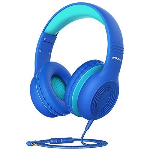 Mpow Ch6S Auriculares Para Niños con Micrófono, 85Db/94Db Volumen Limitado,...