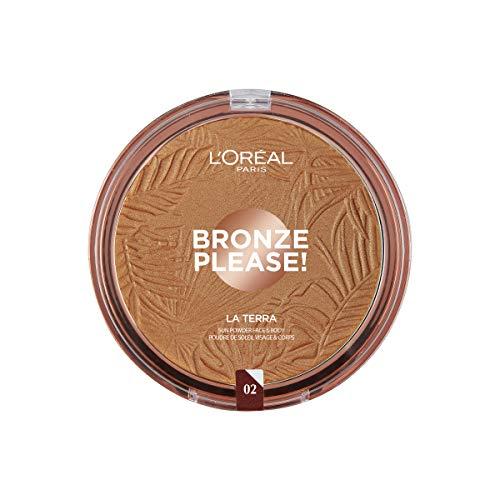 L'Oreal Paris Make-up Designer Polvo Bronceador Glam Bronze La Terra 04 Taormina de...