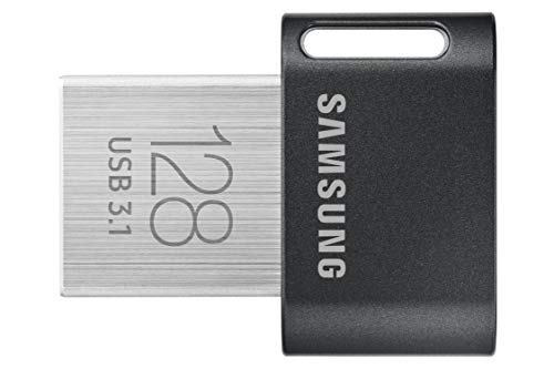 Samsung MUF-128AB unidad flash USB 128 GB USB tipo A 3.2 Gen 1 (3.1 Gen 1) Gris,...
