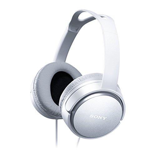 Sony MDRXD150 - Auriculares de Diadema Cerrados, Blanco, 18 x 18 x 19