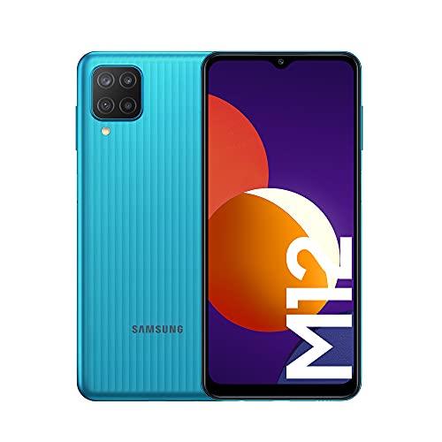Samsung Smartphone Galaxy M12 con Pantalla Infinity-V TFT LCD de 6,5 Pulgadas, 4 GB...