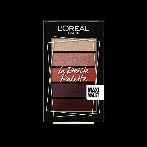 L'Oreal Paris Mini Paletas de Sombras, 01 Maximalist, 1 paquete ( 5x0,80 g)