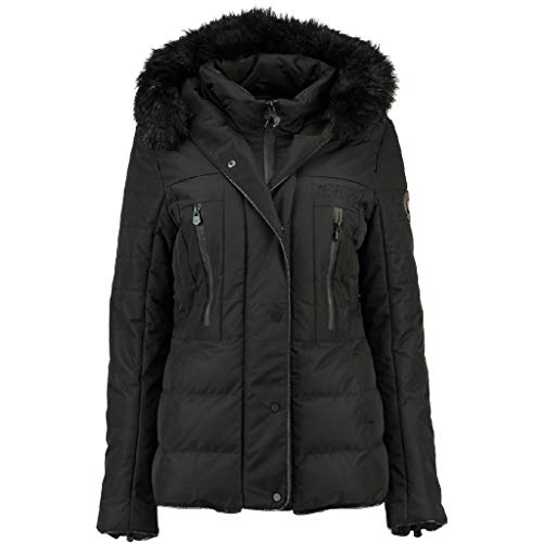 Geographical Norway Parka de Mujer DIONYSOS Negro S