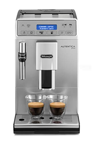 De'Longhi ETAM 29.620.SB, Autentica Plus - Cafetera Superautomática Espresso y...