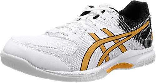 Asics Gel-Rocket 9, Sneaker Mens, White/Pure Gold, 42 EU