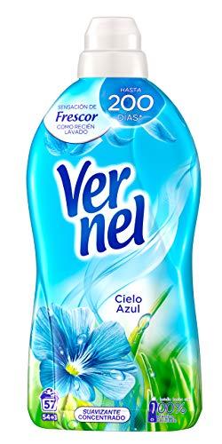 Vernel Suavizante Lavadora Concentrado Cielo Azul - 57 Lavados, 1.140 l