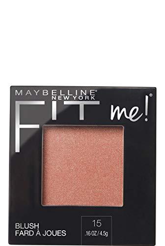 Maybelline New York - Fit Me Blush Colorete en Polvo Mate, para Todo Tipo de Pieles,...