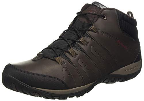 Columbia Woodburn II Chukka Waterproof Omni-Heat, Zapatos Hombre, Marrón (Cordovan,...