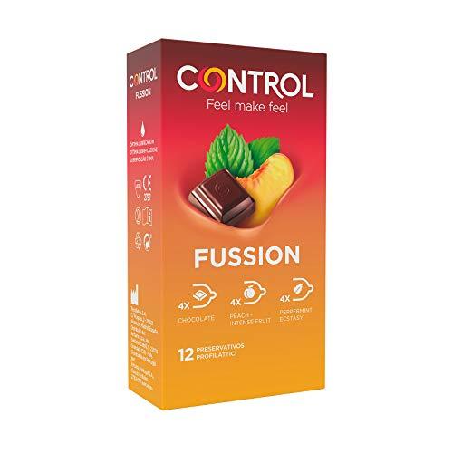Control Preservativos Fussion 12 Uds 12 Unidades 50 g