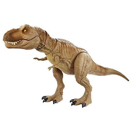 Jurassic World T-Rex aullido épico Dinosaurio articulado, figura de juguete para...