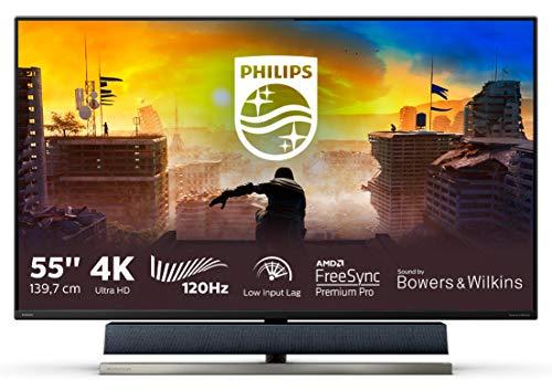 Philips 558M1R/00Y- Monitor de 55' UHD 4K (3840x2160, 120 Hz, VA, Adaptive Sync, 750...