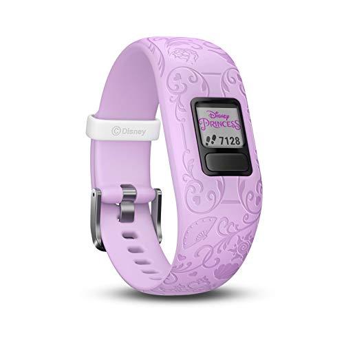 Garmin Vívofit Jr. 2 - Monitor de actividad para niños, Disney Princess Purple...