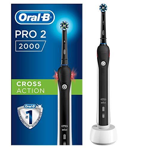 Oral-B PRO 2 2000 Cepillo Eléctrico Recargable con Tecnología De Braun, 1 cabezal...