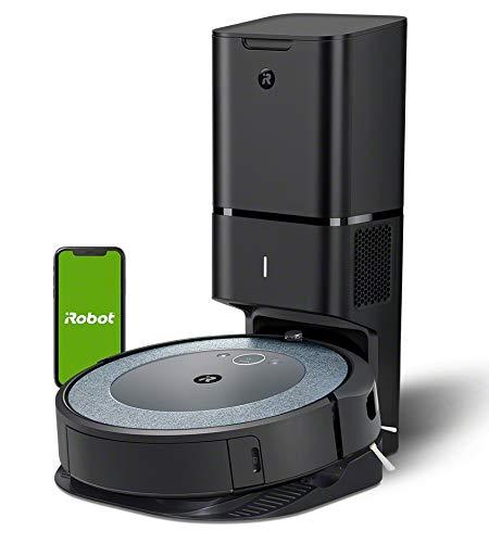 iRobot Roomba i3552 - Robot Aspirador con mapeo, Wi-Fi y Vaciado automático de la...