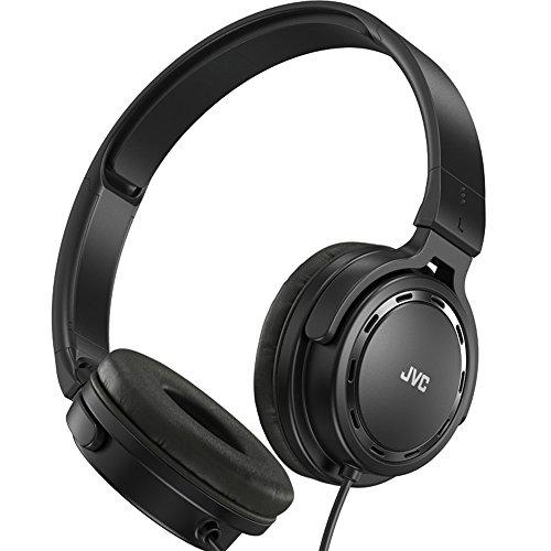 JVC HA-S520-B-E - Auriculares de diadema cerrados (diseño portátil y compacto,...
