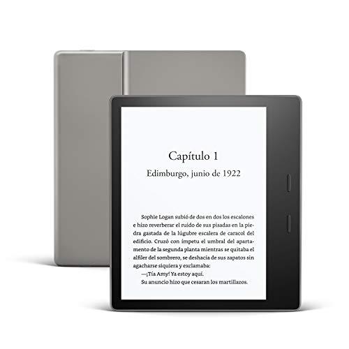 Kindle Oasis, ahora con luz cálida ajustable, resistente al agua, 8 GB, wifi,...