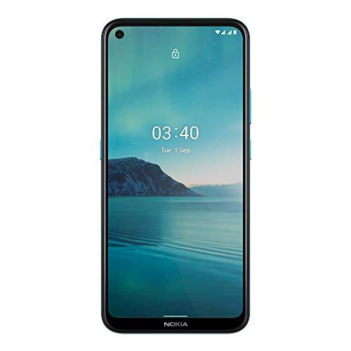 Nokia 3.4 -Smartphone 6,39'' HD+ (3GB RAM, 64GB ROM, Cámara 13MP y 15MP, Batería...