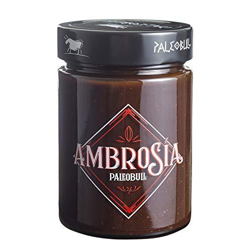 Crema de Cacao y Avellanas Saludable Ambrosía - Sin Azúcar Añadido, Sin...