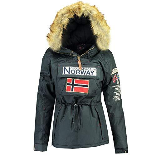 Geographical Norway Parka BOOMERA Mujer Azul Marino Talla XL