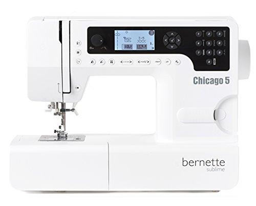 Máquina de coser Bernette Chicago 5 - Swiss Design - Quilt e Patwork