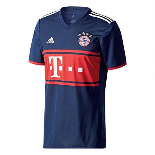 adidas FCB A JSY Camiseta 2ª Equipación Bayern Munich 2017-2018, Hombre, Azul...