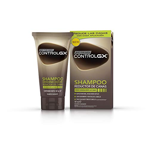 Just For Men, Control GX Champú. Reduce las canas gradualmente. Resultado natural....