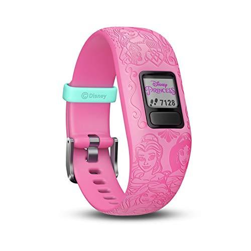 Garmin Vívofit Jr. 2 - Monitor de actividad para niños, Disney Princess Pink (Banda...