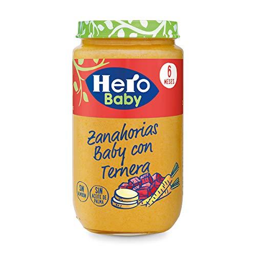 Hero Baby - Zanahorias Baby Delicias De Ternera 235 gr