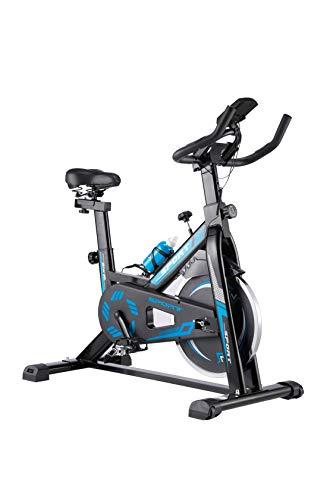 WENHAUS Bicicleta estática para Interior con Pantalla LCD, con reposabrazos...