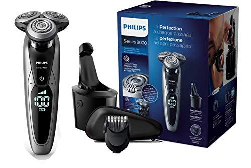 Philips Serie 9000 S9711/32 - Máquina de afeitar con cabezales de 8 direcciones,...
