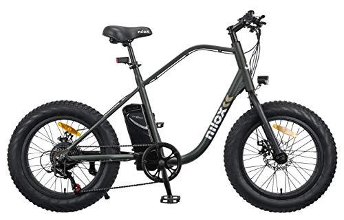 Nilox 30NXEB203V003V2 - Bicicleta eléctrica E Bike 36V 7.8AH 20X4P - J3, Motor 36 V...