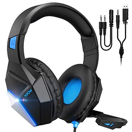 Mpow EG10 Auriculares Gaming para PS4, PC, Xbox One, Switch, Mac, Cascos da 3,5 mm...