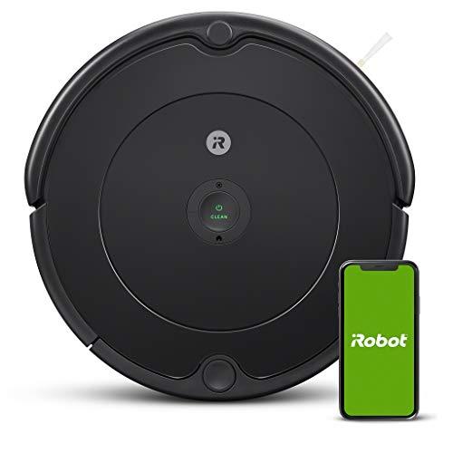 iRobot - Robot aspirador Roomba 692 Wifi, para alfombras y suelos, Dirt Detect,...