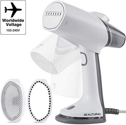 Beautural Plancha de Vapor Vertical, Plancha 1000W,Universal Voltaje 100-240V,...