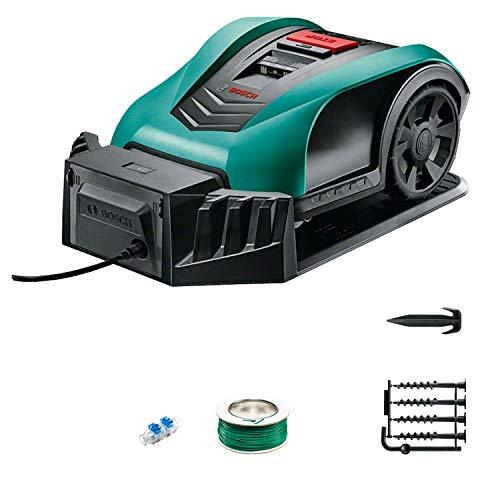 Bosch Robot cortacésped Indego 350, ancho de corte 19 cm, para un césped de hasta...