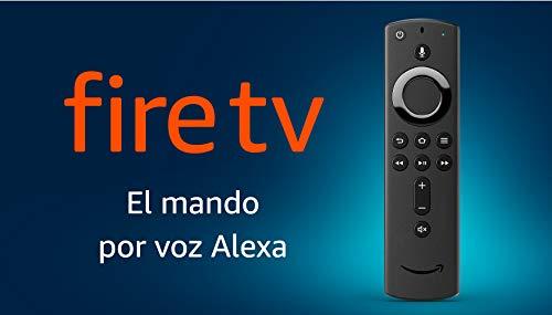 Mando por voz Alexa para el Fire TV, con controles de encendido y volumen, requiere...