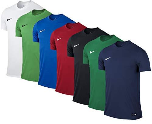 NIKE M Nk Dry Park VII JSY SS Camiseta de Manga Corta, Hombre, Verde (Pine...