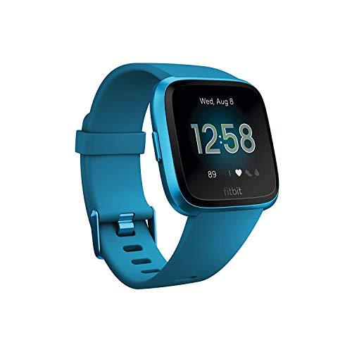 Fitbit Versa Lite - Reloj Deportivo Smartwatch, Adultos Unisex, Azul Marino/Aluminio,...