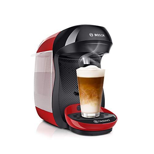Bosch Tassimo Happy TAS1003 - Cafetera de cápsulas, con tecnología Intellibrew,...