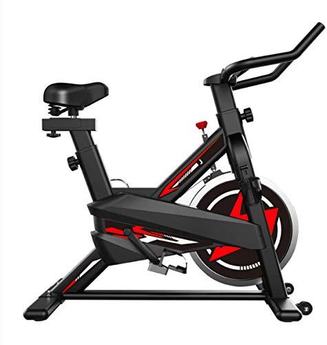 zkhysm - Bicicleta de interior - Bicicleta estática con pantalla LCD para casa y...